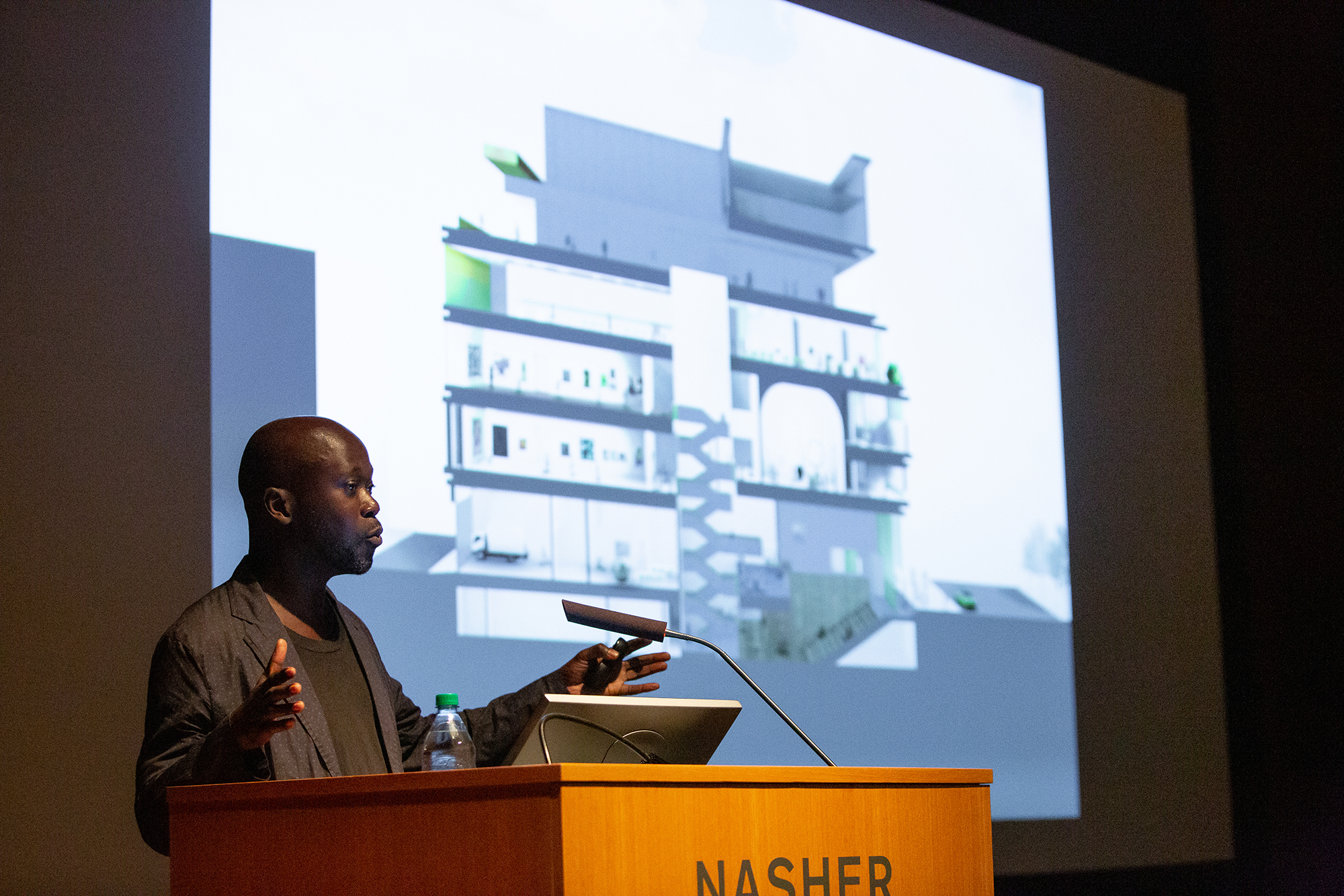 Adjaye describes the design of the Studio Museum in Harlem.