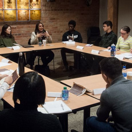 Natasha Trethewey Meeting with Students