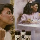 TCB Naturals hair products advertisement from the 1980s