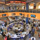 Modern news room