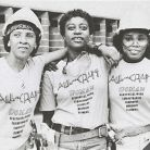 Tradeswomen during the feminist movement. Photo by Bettye Lane