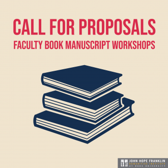 CFP: Faculty Book Manuscript Workshops