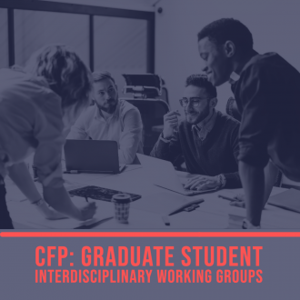 Grad students working together graphic