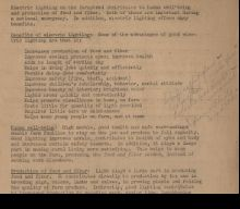 scanned document From Louisan E. Mamer Rural Electrification Administration Papers, Archives Center, National Museum of American