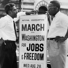March on Washington historic photo