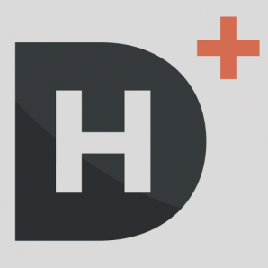 Digital Humanities Logo with H inside big D