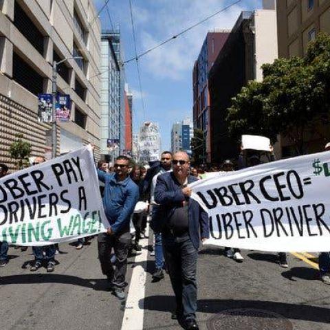 Uber strike