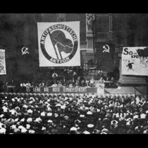 Text reads Antifaschistische