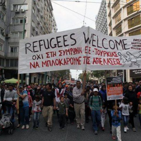 City Plaza Hotel: Occupied and Run by Refugees in Athens