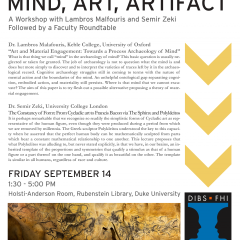 [POSTPONED] Mind, Art, Artifact