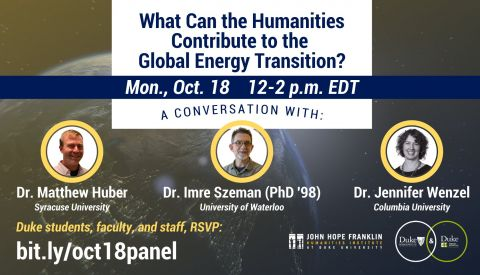 What can the Humanities Contribute to the Global Energy Transition?
