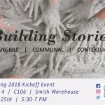 Building Stories: Story Lab Spring Kickoff