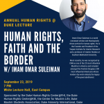 Human Rights, Faith and the Border