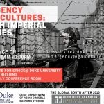 Emergency Legal Cultures: British Imperial Legacies: An International Legal Conference
