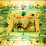 Detail of Haiti in Amber art installation
