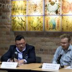 Photo of transgender pedagogy panel speakers Galarte and Beauchamp