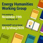 Energy Humanities Working Group