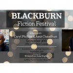 Poster for Blackburn  Festival Feature Readings
