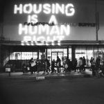 Housing is a Human Right protest