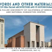 Words and Other Materials Flyer