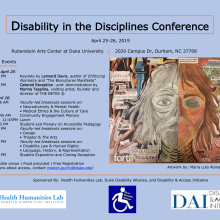 Disability in the Disciplines Conference
