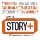 story+ flyer
